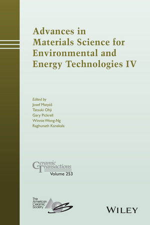 Advances in Materials Science for Environmental and Energy Technologies IV (1119190223) cover image