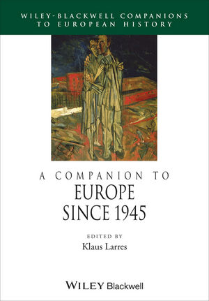 A Companion to Europe Since 1945 (1405106123) cover image
