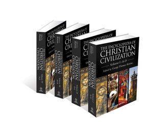 The Encyclopedia of Christian Civilization, 4 Volume Set (1405157623) cover image