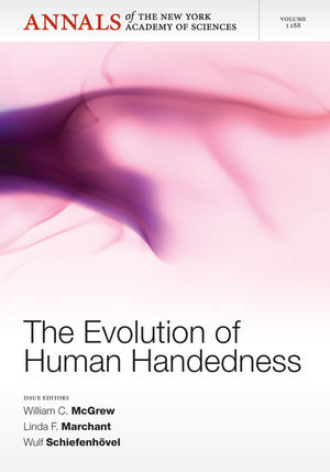 The Evolution of Human Handedness, Volume 1288 (1573319023) cover image