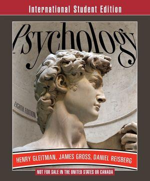 Psychology, 8th Edition, International Student Edition