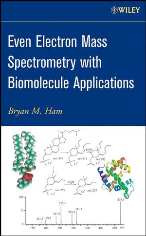 Even Electron Mass Spectrometry with Biomolecule Applications