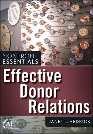 Effective Donor Relations (0470439424) cover image