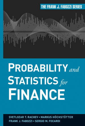 Probability and Statistics for Finance (0470906324) cover image
