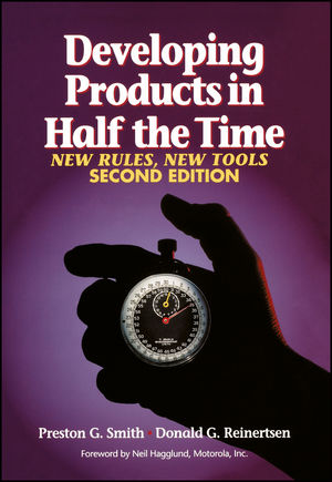 Developing Products in Half the Time: New Rules, New Tools, 2nd Edition (0471292524) cover image