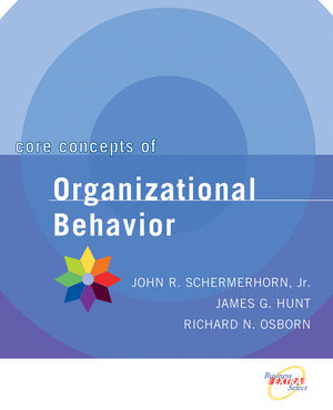 Core Concepts of Organizational Behavior  (0471391824) cover image