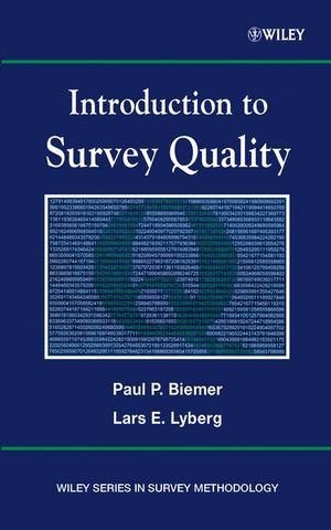 Introduction to Survey Quality (0471458724) cover image