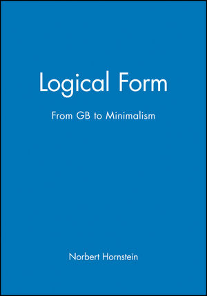 Logical Form: From GB to Minimalism (0631189424) cover image