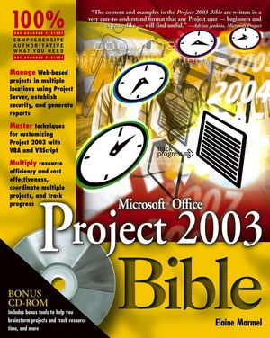 Microsoft Office Project 2003 Bible (0764542524) cover image