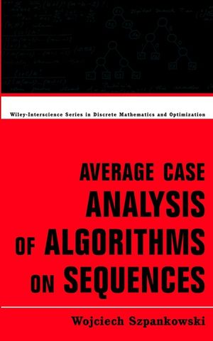Average Case Analysis of Algorithms on Sequences (1118031024) cover image