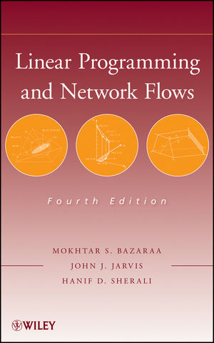 Linear Programming and Network Flows, 4th Edition (1118211324) cover image