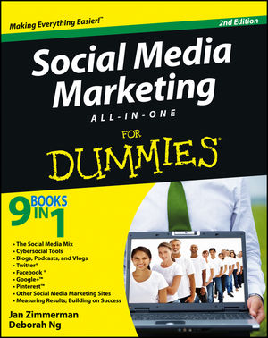 Social Media Marketing All-in-One For Dummies, 2nd Edition (1118215524) cover image