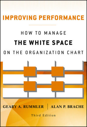 Improving Performance: How to Manage the White Space on the Organization Chart, 3rd Edition (1118239024) cover image
