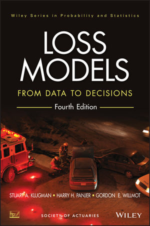Loss Models: From Data to Decisions, 4th Edition (1118315324) cover image