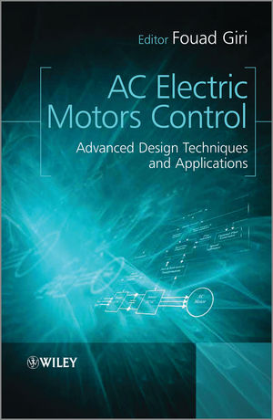 AC Electric Motors Control: Advanced Design Techniques and Applications (1118331524) cover image