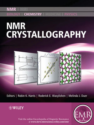 NMR Crystallography (1118587324) cover image