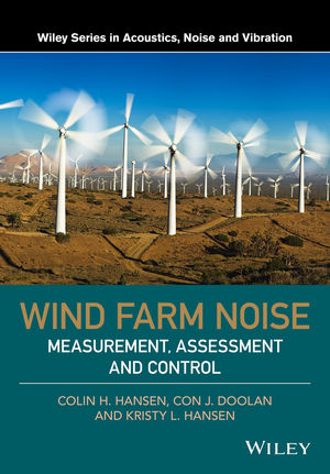 Wind Farm Noise: Measurement, Assessment, and Control (1118826124) cover image
