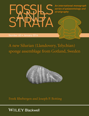 A New Silurian (Llandovery, Telychian) Sponge Assemblage from Gotland, Sweden (1118906624) cover image