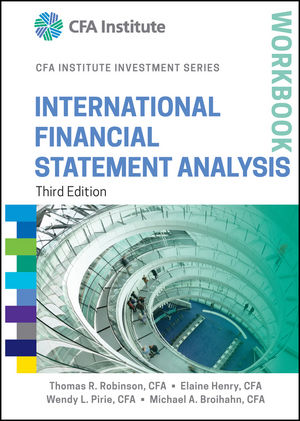 Wiley: International Financial Statement Analysis Workbook, 3Rd
