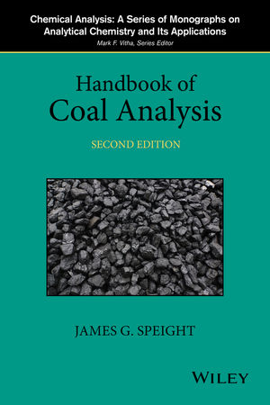 Handbook of Coal Analysis, 2nd Edition (1119038324) cover image