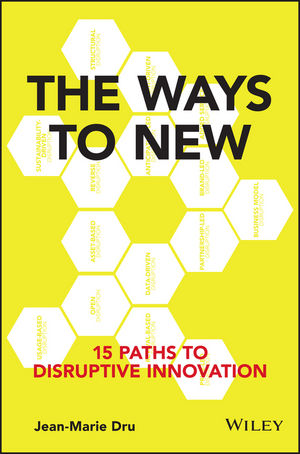 The Ways to New: 15 Paths to Disruptive Innovation (1119211824) cover image