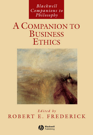 A Companion to Business Ethics (1405101024) cover image
