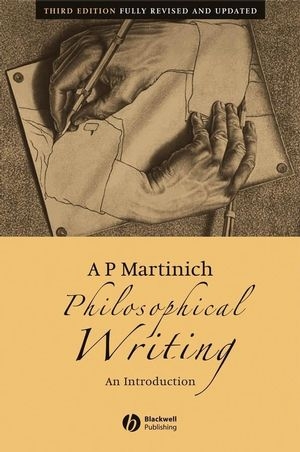 Philosophical Writing: An Introduction, 3rd Edition