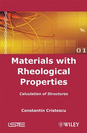 Materials with Rheological Properties: Calculation of Structures