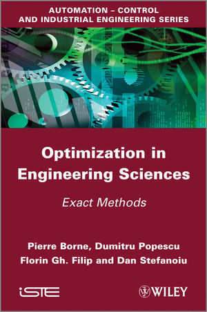 Optimization in Engineering Sciences: Exact Methods (1848214324) cover image