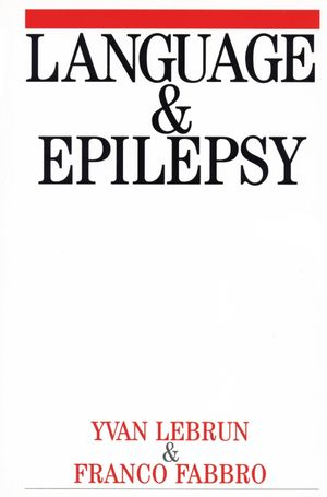 Language and Epilepsy (1861563124) cover image
