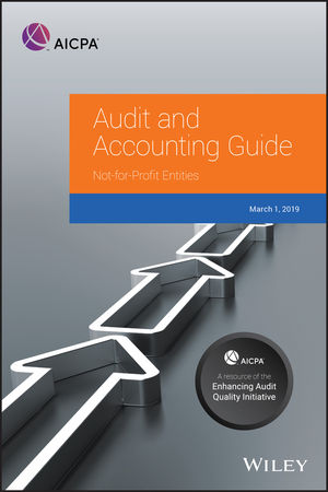 Auditing and Accounting Guide: Not-for-Profit Entities, 2019