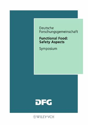 Functional Food: Safety Aspects (3527606424) cover image