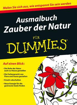 Ausmalbuch Zauber der Natur
