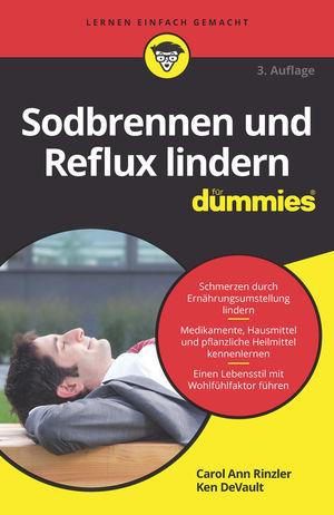Sodbrennen und Reflux lindern für Dummies, 3. Auflage