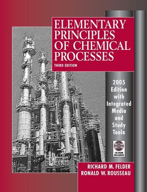 Elementary Principles of Chemical Processes, 3rd Update Edition (EHEP000824) cover image