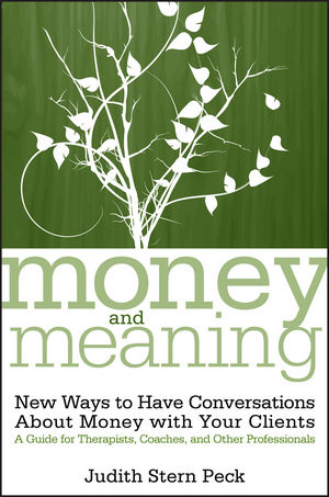 Money and Meaning: New Ways to Have Conversations About Money with Your Clients--A Guide for Therapists, Coaches, and Other Professionals, + URL (0470083425) cover image
