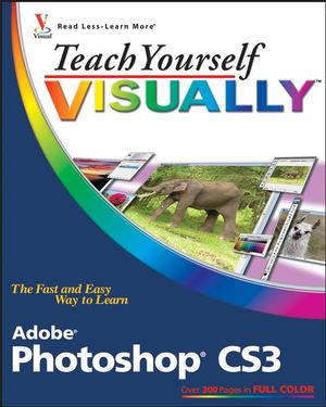 Teach Yourself VISUALLY Adobe Photoshop CS3 (0470114525) cover image