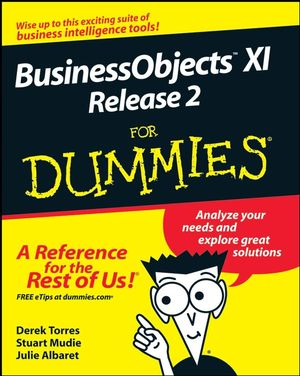 BusinessObjects XI Release 2 For Dummies (0470181125) cover image