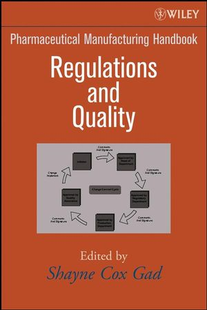 Pharmaceutical Manufacturing Handbook: Regulations and Quality (0470259825) cover image