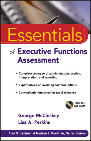 Essentials of Executive Functions Assessment (0470422025) cover image