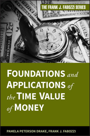 Foundations and Applications of the Time Value of Money (0470526025) cover image