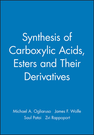 Synthesis of Carboxylic Acids, Esters and Their Derivatives