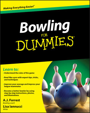 Bowling For Dummies (0470882425) cover image