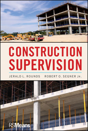 Construction Supervision (0470950625) cover image