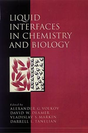 Liquid Interfaces in Chemistry and Biology (0471148725) cover image