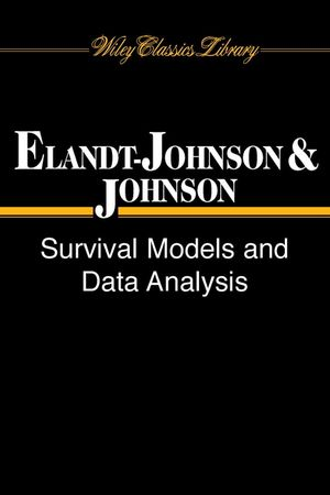 Survival Models and Data Analysis (0471349925) cover image