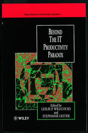 Beyond the IT Productivity Paradox (0471986925) cover image