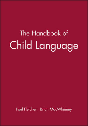 The Handbook of Child Language (0631203125) cover image