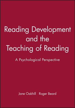 Reading Development and the Teaching of Reading: A Psychological Perspective (0631206825) cover image