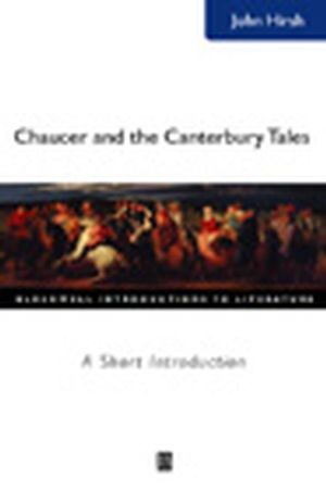 Chaucer and the Canterbury Tales: A Short Introduction (0631225625) cover image